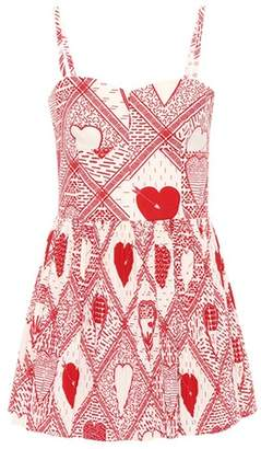 RED Valentino Printed cotton jumpsuit