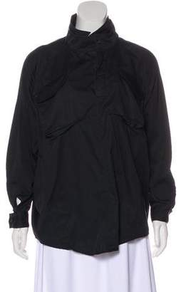 AllSaints Collared Long Sleeve Blouse