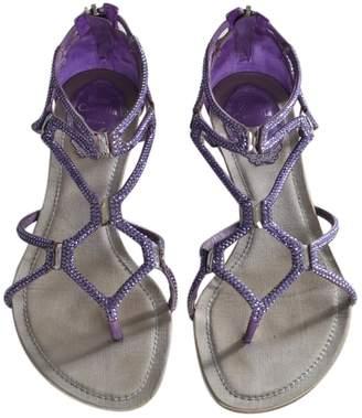 Rene Caovilla Leather flip flops