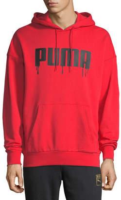 Puma Men's Super Logo Pullover Hoodie