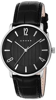 Cross [クロス 腕時計 ブラック文字盤 CR8052-01 メンズ 【正規輸入品】