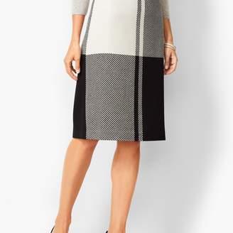 d54686237 Talbots Colorblock Twill Pencil Skirt