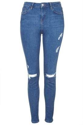 Tall moto blue rip jamie jeans