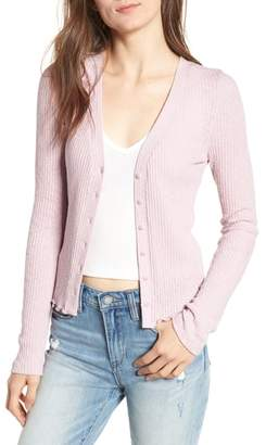 BP Slim Long Sleeve Button Cardigan