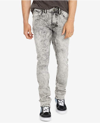 Buffalo David Bitton Men's Slim-Fit Ash-X Rowan Gray Jeans