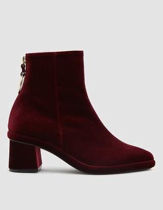 Reike Nen Ring Slim Boots in Burgundy