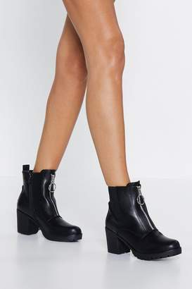 Nasty Gal Get Up and O-ring Boot