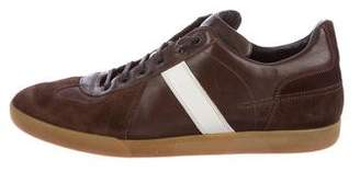 Christian Dior B01 Leather Low-Top Sneakers