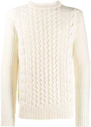 Woolrich cable knit jumper