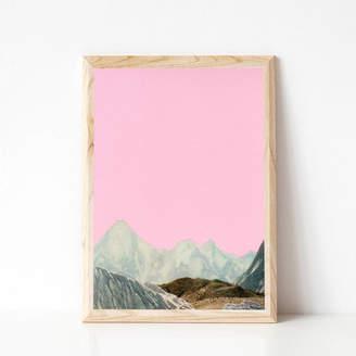 Cassia Beck Art and Photography Silent Hills Landscape Mountain Print