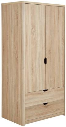Aspen 2 Door, 2 Drawer Wardrobe