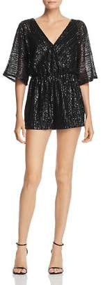 BB Dakota Sequin Dolman Sleeve Romper