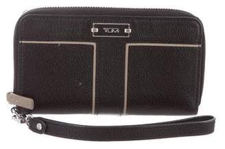 Tumi Grained Leather Compact Wallet