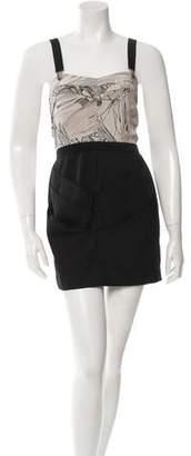Vena Cava Pleated Mini Dress
