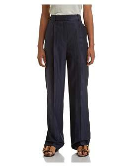 Theory Pleat Trouser Stripe