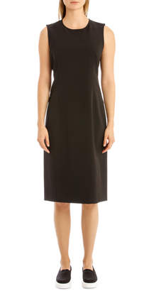 DKNY Sleeveless Mid Length Shift Dress W3703DKA