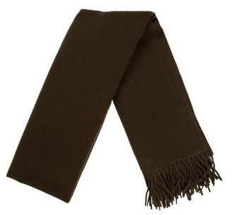 Acne Studios Wool Fringe Scarf