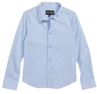 Armani Junior Print Shirt
