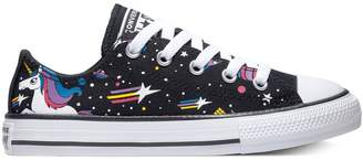 Converse Little Girl's Chuck Taylor All Star Unicorns Low Top Sneaker