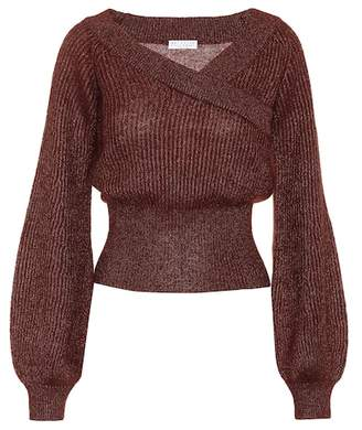 Brunello Cucinelli Mohair and alpaca-blend sweater