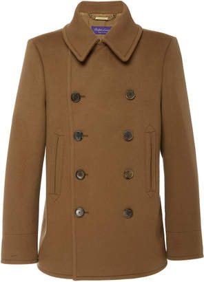 Ralph Lauren Double-Breasted Cashmere Peacoat