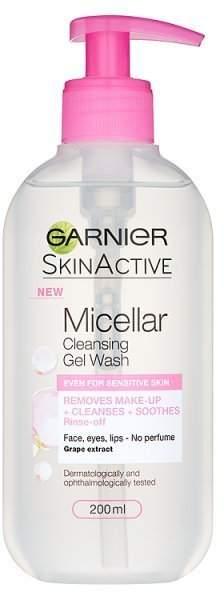 Garnier Micellar Gel Face Wash Sensitive Skin 200ml