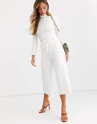 Fashion Union knitted wide leg pants co-ord