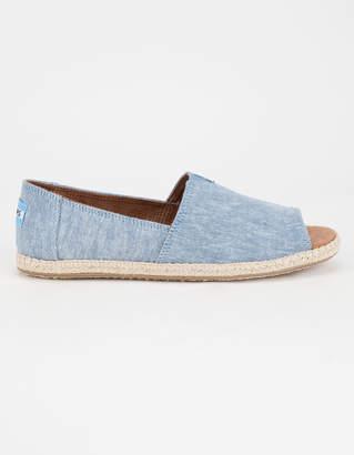 Toms Alpargata Open Toe Womens Shoes