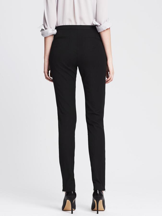Banana Republic Sloan-Fit Slim Ankle-Zip Pant