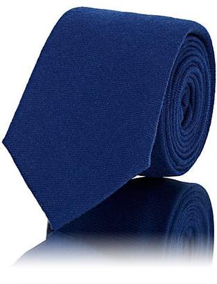 Alexander Olch Men's Wool Necktie - Blue