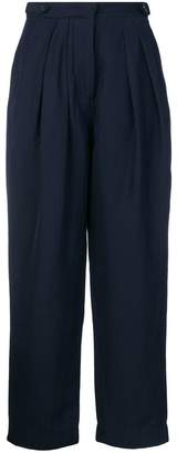 Studio Nicholson double pleat tapered trousers