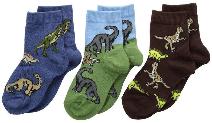 Dino Triple Treat 3-Pack Boys Shoes