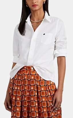 Alex Mill Women's Slub-Weave Cotton Shirt - White