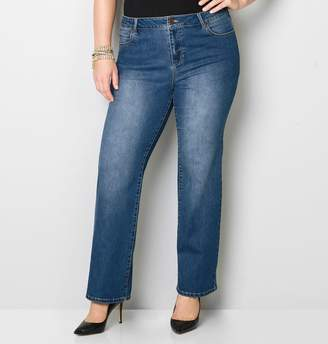 Avenue Bootcut Jean in Dark Wash