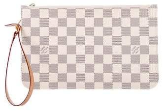 Louis Vuitton Damier Azur Neverfull Pochette