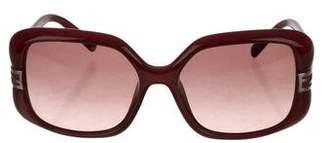 Fendi Oversize Gradient Sunglasses
