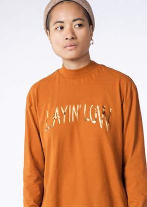 WildFang Stone Row Orange Layin Low Tee | Layin Low Tee - ORANGE - SMALL