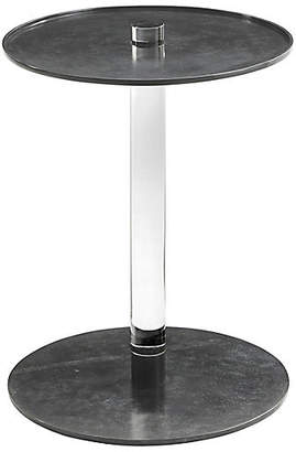 Theodore Alexander Instill Side Table - Bronze/Clear