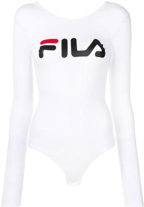 Fila logo print bodysuit