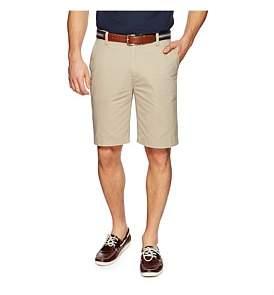 Nautica Flat Front Cotton Twill Short