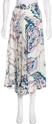 Dries Van Noten Silk Printed Skirt w/ Tags