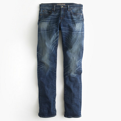 J.CrewPoint Sur Japanese denim with cashmere jean in Lynndale wash