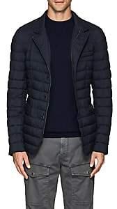 Herno Men's Tech-Taffeta Puffer Jacket-Dk. Blue