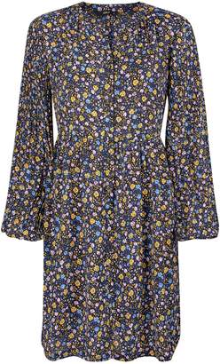Dorothy Perkins Womens **Only Yellow Ditsy Floral Print Skater Dress