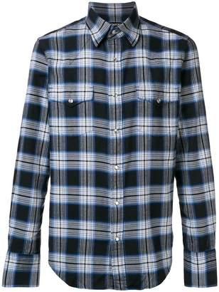 Tom Ford classic plaid shirt