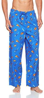 Cyberjammies Men's Sydney Pyjama Bottoms, Blue, S