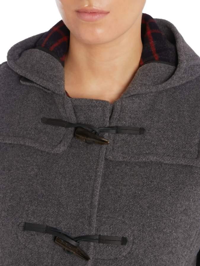 Gloverall Long Slim Duffle Coat