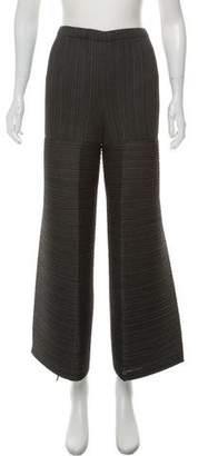 Issey Miyake Structured Wide-Leg Pants