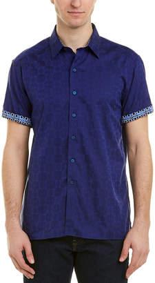 Robert Graham Cullen Classic Fit Woven Shirt