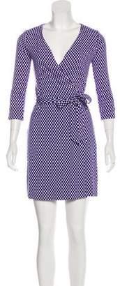 Diane von Furstenberg Julian Wrap Dress w/ Tags
